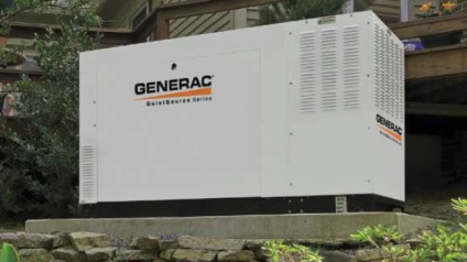 Generac generator installed in Lawrenceville GA by Meehan Electrical Services.