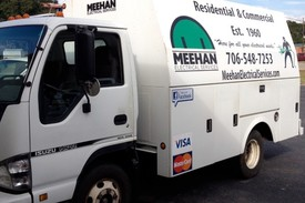 Meehan Electrical Services's truck